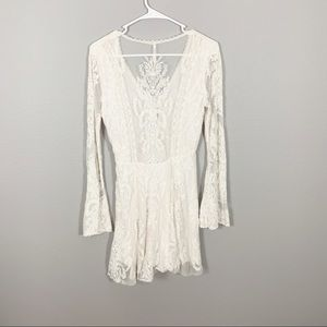 Free People Dresses - Free People Lace Mesh Reign Over Me Dress